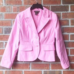 Chadwick's Collections Pink long sleeve blazer